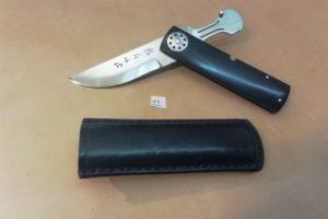 Couteau de poche Yaku Saku ébène #13