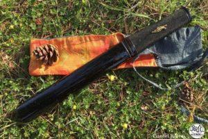 Couteau japonais Citadel Aikuchi damas