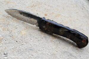 Couteau de poche Citadel Aizto Medium Croûté