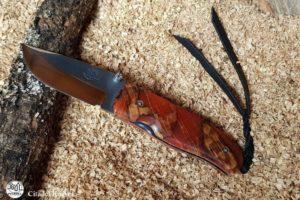 Pocket Knife Citadel Chantha heated beech wood