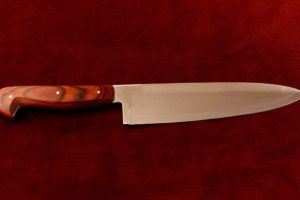 Chef Knife Citadel Sabat 1 wood style