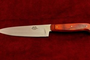 Chef Knife Citadel Sabat 4 wood style