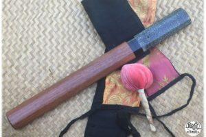 Couteau japonais Citadel Okibati damas galuchat