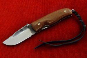 Pocket Knife Citadel Chantha micarta brown
