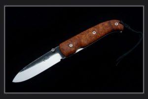 Pocket Knife Citadel Danang maple burl