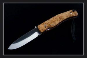 Couteau de poche Citadel Husky loupe de peuplier
