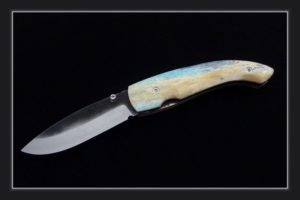 Pocket Knife Citadel Roman camel bone