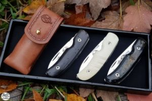 Citadel luxury leather pouch for Coubi knife