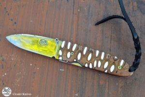 Pocket Knife Citadel Monterey white banksia