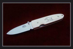 Couteau de poche Citadel Monterey Elforyn sanglier