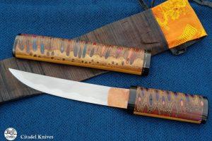 Couteau japonais Citadel Aikuchi Banksia