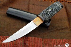 Couteau Citadel Aikuchi Caviar