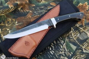 Hunting Knife Citadel Baltic 1 Buffalo Horn