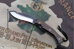 Couteau de poche Citadel Kukrilock corne