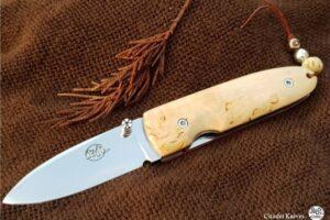 Pocket knife Citadel Monterey Birch Wood