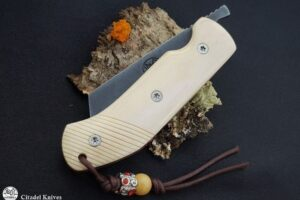 Pocket knife Citadel Torpedo Bone Zebra