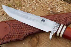 Couteau Citadel Trappeur Damas