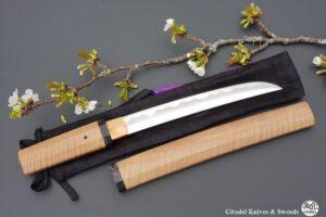 Citadel Tanto Blade in Shira Saya- Sralao
