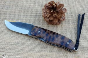 "Citadel ""Chantha Banksia Navy-Blanc""- Couteau de Poche"