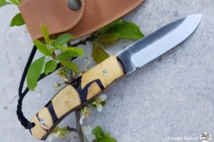 Citadel Husky Old Box wood folding Knife