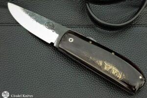 "Citadel ""Phan Thiet MASK"" Friction Folding Knife."