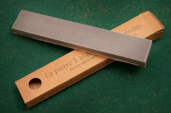sharpening stone with leather