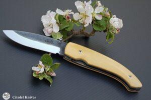 "Citadel ""Roman"" Oldbox Wood- Folding Knife"