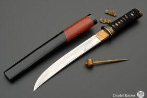 "Citadel ""Tanto Damascus BIBATERU"" – Japanese Knife"