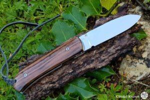 "Citadel ""Fidel Ebony"" Folding Knife"