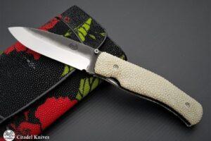 "Citadel ""Husky"" Galuchat- Folding Knife"