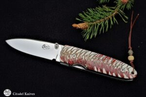 "Citadel ""Monterey Cranberry"" Folding Knife"