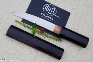 """Citadel """"Okibati Ebony"""" Japanese style Knife"""