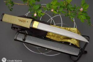 """Citadel """"Aikuchi Mozu"""" Damascus – Japanese Knife"""