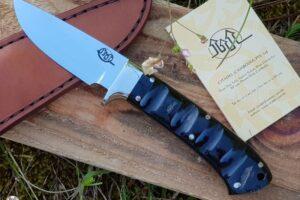 """Citadel """"Baltik #4"""" Horn- Fixed Blade Knife"""