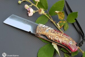 """Citadel """"Giaponino Lotus""""- Couteau de Poche"""