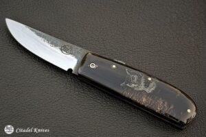 """Citadel """"Phan Thiet Grand-Duc""""- Couteau de Poche."""
