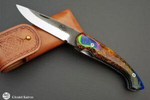 "Citadel ""Trident Sparkle""- Folding Knife"