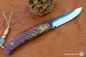 """Citadel """"Fidel #2 Lupin""""- Couteau de Poche"""