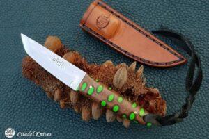"Citadel ""Mushroom Banksia""- Fixed Blade Knife."