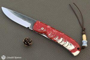 "Citadel ""Fidel #2 Magnolia""- Couteau de Poche."