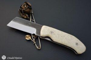 """Citadel """"Giaponino Galuchat""""- Couteau de Poche."""