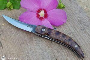 """Citadel """"Trey Tum Aviano""""- Folding Knife."""