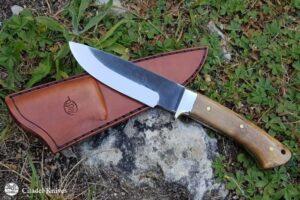 """Citadel """"Baltic #2 Bamboo""""- Hunting Knife."""