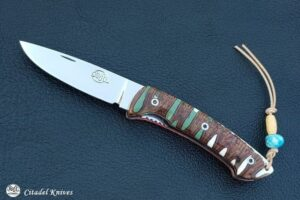 """Citadel """"Kampot Banksia""""- Folding Knife."""