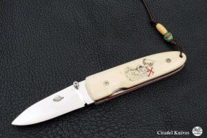 """Citadel """"Monterey Montgisard""""- Couteau de Poche."""