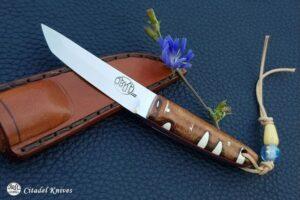 """Citadel """"Mushroom Albany""""- Fixed Blade Knife."""