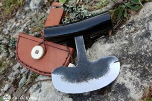 "Citadel ""Ulu Horn""- Fixed Blade Knife."